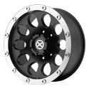 American Racing ATX Slot Wheels Satin Black/Machined [AX186 Wheels]