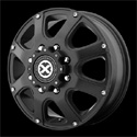 American Racing ATX Ledge Dually Wheels Teflon Front [AX189 Wheels]