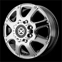 American Racing ATX Ledge Dually Wheels Bright PVD Front [AX189 Wheels]