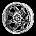 American Racing ATX Ledge Dually Wheels Bright PVD Rear [AX189 Wheels]