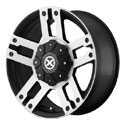 American Racing ATX Dune Wheels Satin Black/Machined [AX190 Wheels]