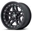 American Racing ATX Cornice Wheels Black Teflon [AX195 Wheels]