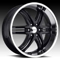 BOSS MOTORSPORTS BOSS 344 BLACK WHEELS