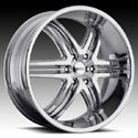 BOSS MOTORSPORTS BOSS 344 CHROME WHEELS