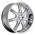 BOSS MOTORSPORTS BOSS 345 CHROME WHEELS