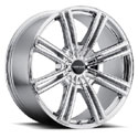 Cruiser Alloy 916V Obsession Bright PVD Wheels