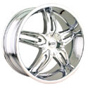 DIP BIONIC ALLOY WHEELS CHROME