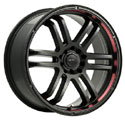 Drifz 207B FX Carbon Black Wheels