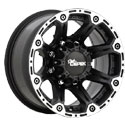 Dick Cepek Torque Flat Black Wheels