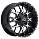 Dropstars 645MB Gloss Black Wheels