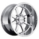 Gear Alloy 726C Big Block Chrome Wheels
