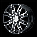 Helo HE835 Wheels Glossy Black
