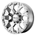 Helo HE878 Wheels Chrome