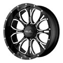 Helo HE879 Wheels Gloss Black/Milled