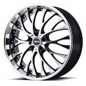 Helo HE890 Wheels Black/Machined
