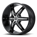 Buy Helo HE891 Wheels Black/Chrome at Discount Prices from tiresbyweb.com by calling 800-576-1009.