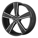 Helo HE899 Satin Black/Machined Wheels