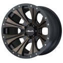 Helo HE901 Satin Black/Dark Tint Wheels
