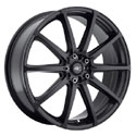 ICW Racing 215B Banshee Satin Black Wheels