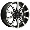 ICW Racing 209MB Euro Mirror Machined Wheels