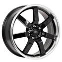 ICW Racing 213MB Osaka Gloss Black Wheels