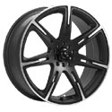 ICW Racing 210MB Kamikaze Carbon Black Wheels