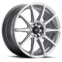 ICW Racing 215H Banshee Hyper Silver Wheels