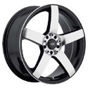 ICW Racing 216MB Mach 5 Mirror Machined Wheels