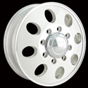 ION ALLOY STYLE 167 DUALLY FRONT WHEELS POLISHED