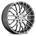 KMC KM693 Wheels Pearl Gray/Brushed
