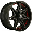 MAYHEM MISSILE WHEELS BLACK