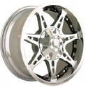 MAYHEM MISSILE WHEELS CHROME