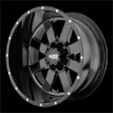 Buy Moto Metal MO962 Wheels Glossy Black/Milled at Discount Prices from tiresbyweb.com by calling 800-576-1009.