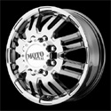 Moto Metal MO963 Dually Wheels PVD Front
