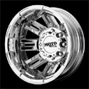 Moto Metal MO963 Dually Wheels PVD Rear