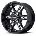 Moto Metal MO969 Wheels Satin Black with Accents