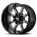 Buy Moto Metal MO970 Wheels Gloss Gray/Black at Discount Prices from tiresbyweb.com by calling 800-576-1009.