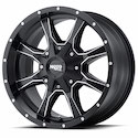 Buy Moto Metal MO970 Wheels Satin Black/Milled at Discount Prices from tiresbyweb.com by calling 800-576-1009.