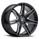Motiv 414BM Modena Gloss Black Wheels