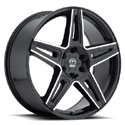 Motiv 415MB Mythic Gloss Black Wheels