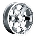 Pacer 187P Warrior Polished Wheels
