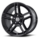 OE Creations 101 Gloss Black Wheels
