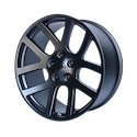 OE Creations 107 Semi Gloss Black Wheels