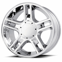 OE Creations 108 Chrome Plated Wheels
