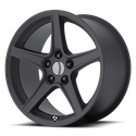 OE Creations 110 Matte Black Wheels