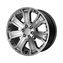 OE Creations 113 Hyper Silver Dark/Chrome Wheels