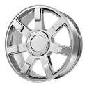 OE Creations 122 Chrome Plated Wheels