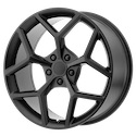 OE Creations 126 Matte Black Wheels