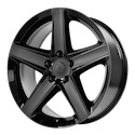 OE Creations 129 Gloss Black Wheels