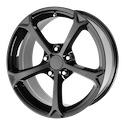 OE Creations 130 Gloss Black Wheels